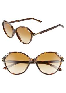 Tory Burch 57mm Cat Eye Sunglasses
