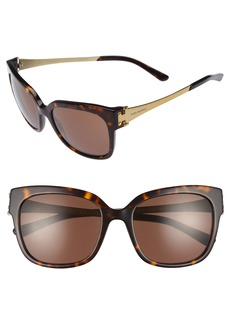 Tory Burch 57mm Sunglasses