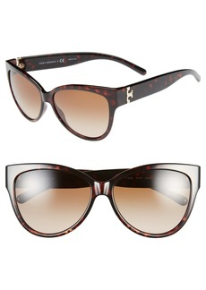 Tory Burch 59mm Cat Eye Sunglasses