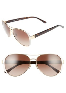 Tory Burch 60mm Sunglasses