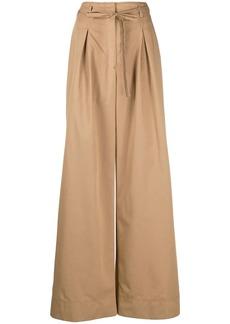 Tory Burch high-waisted wide leg trousers