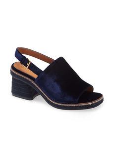 Tory Burch Ankle Strap Espadrille Sandal (Women)