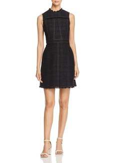 Tory Burch Aria Metallic Tweed Dress