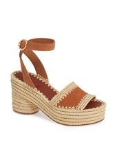 Tory Burch Arianne Platform Ankle Strap Sandal (Women)