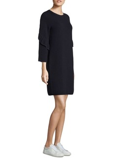 Tory Burch Ashley Textured Wool Dress