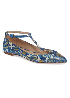 Tory Burch Ashton T-Strap Flat (Women)