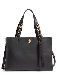 Tory Burch Brooke Leather Satchel