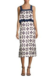 Tory Burch Avila Popover Silk Dress