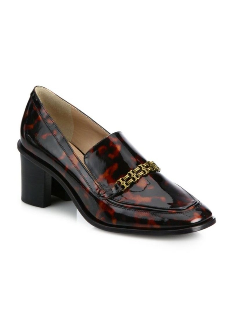16b74edb1561 Tory Burch Tory Burch Berline Patent Leather Block-Heel Loafers | Shoes