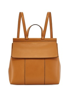 Tory Burch Block-T Leather Backpack