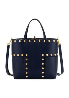 Tory Burch Block T Stud Mini Tote Bag