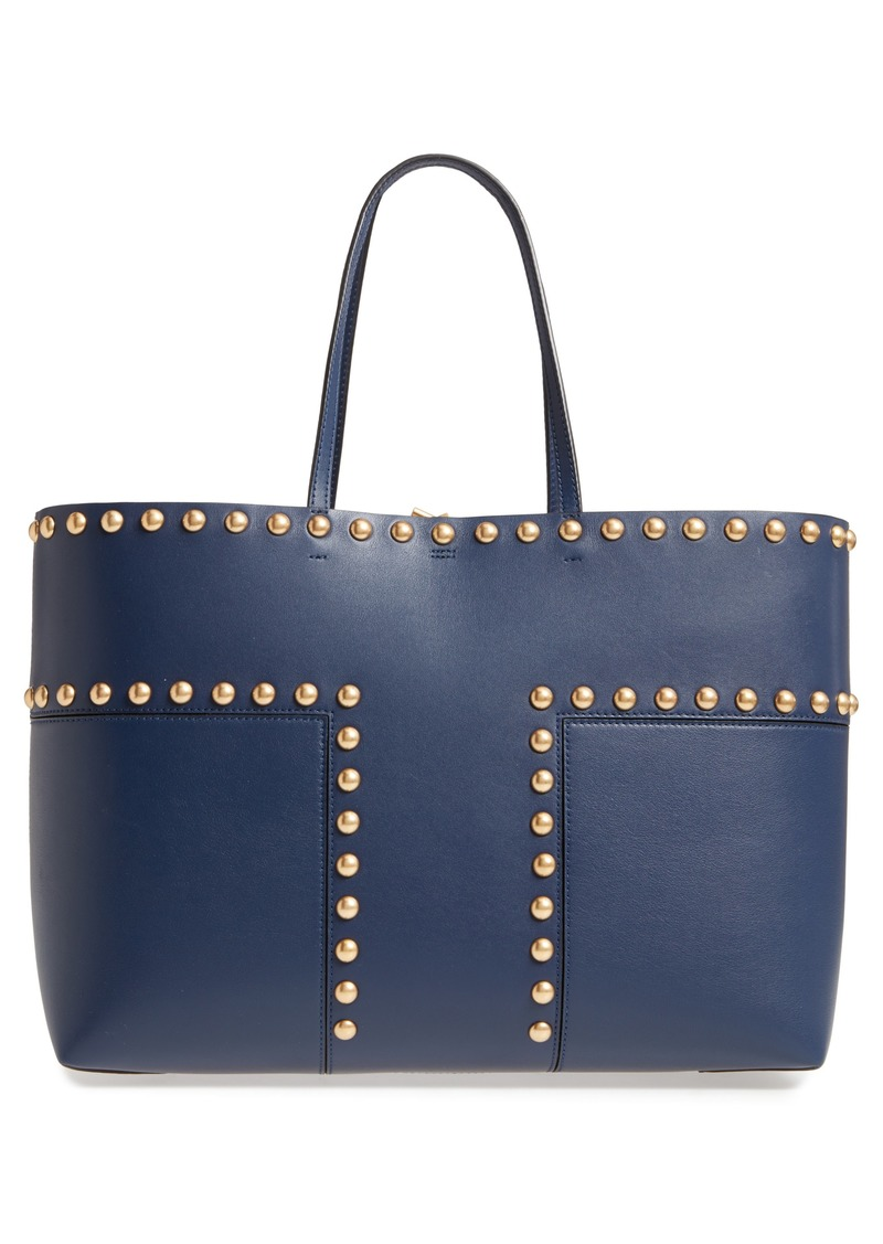 e2626a49a127 SALE! Tory Burch Tory Burch Block-T Studded Leather Tote