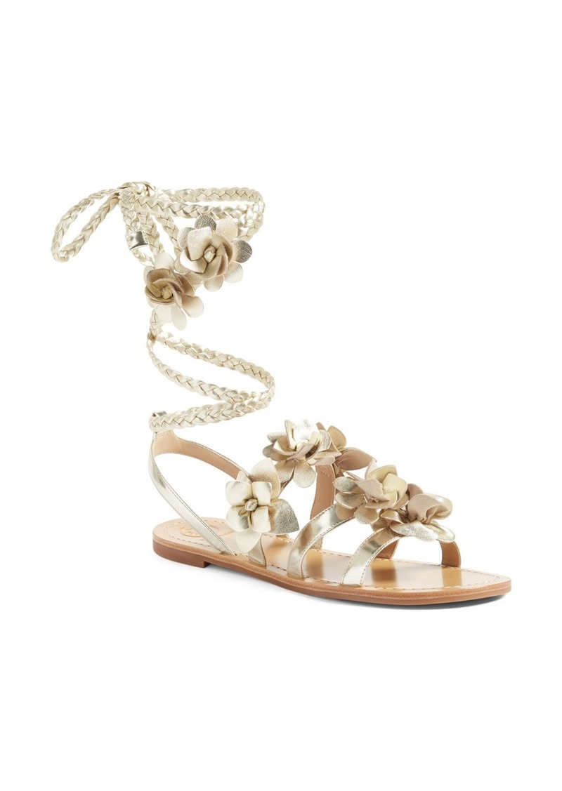 f2a3d5347cd16 Tory Burch Tory Burch Blossom Gladiator Sandal (Women)