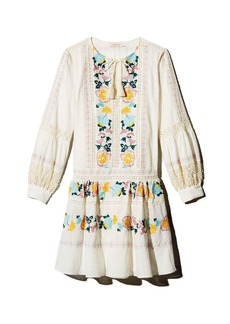 Tory Burch Boho Embroidered Dress