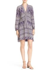 Tory Burch 'Bourdelle' Print Silk Tunic Dress