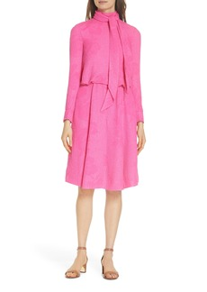 Tory Burch Brielle Textured Silk Dress