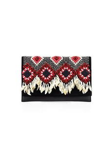 Tory Burch Brooke Embellished Clutch Bag