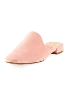 Tory Burch Carlotta Velvet Flat Mule Loafer