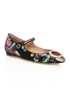 Tory Burch Caterina Brocade Mary Jane Flats