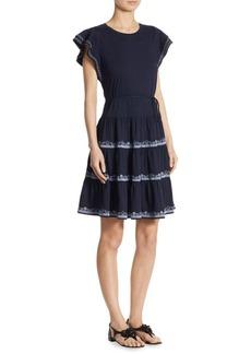 Tory Burch Caterina Ruffle Dress