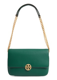 Tory Burch Chelsea Leather Shoulder/Crossbody Bag