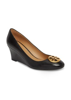 Tory Burch Chelsea Logo Medallion Wedge (Women)
