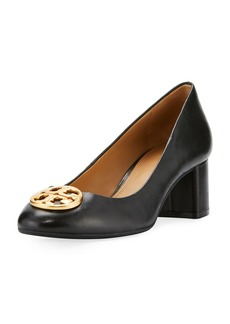 Tory Burch Chelsea Medallion 50mm Pump