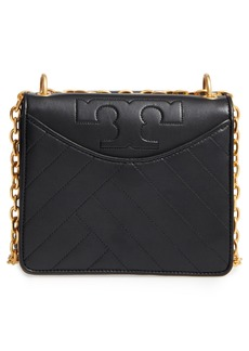 Tory Burch Chevron Quilted Leather Crossbody Bag