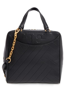 Tory Burch Chevron Quilted Leather Satchel