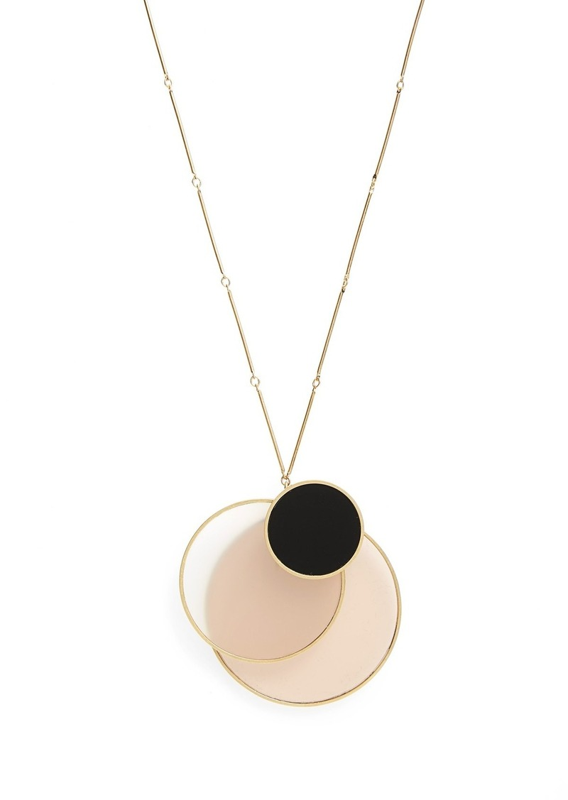 Tory burch tory burch circle cluster pendant necklace jewelry tory burch circle cluster pendant necklace aloadofball Images