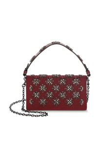 Tory Burch Cleo Embellished Foldover Clutch