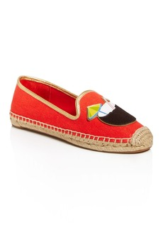Tory Burch Coco Calf Hair Appliqu� Espadrille Flats