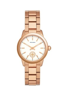 Tory Burch Collins Stainless Steel Bracelet Watch