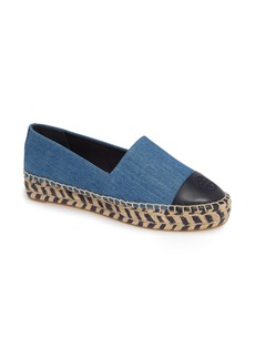 Tory Burch Colorblock Platform Espadrille (Women)