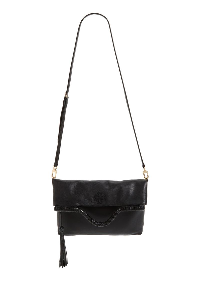 9b370d8cd8d Tory Burch Tory Burch Convertible Leather Crossbody Bag