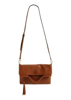 Tory Burch Convertible Leather Crossbody Bag