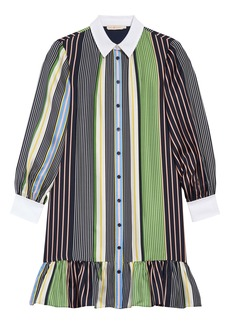 Tory Burch Cora Long Sleeve Shirtdress (Nordstrom Exclusive)