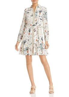 Tory Burch Cora Printed-Silk Dress