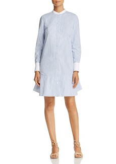 Tory Burch Cora Stripe Shirt Dress