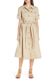 Tory Burch Cotton Safari Dress