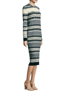 Tory Burch Cotton Sweater Dress