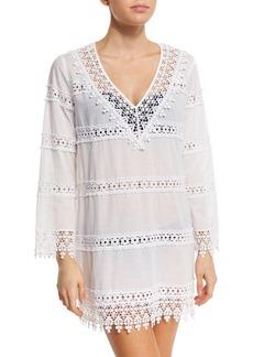 Tory Burch Crochet Lace Coverup Dress