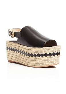 Tory Burch Dandy Espadrille Platform Slingback Sandals