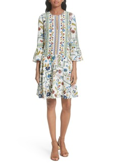 Tory Burch Daphne Silk Shift Dress