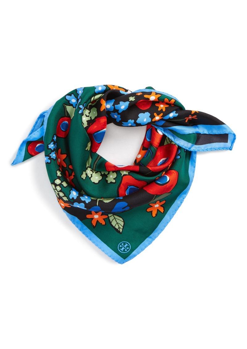 Tory Burch Tory Burch Darling Floral Silk Neckerchief Now  40.80 cb304bbf152e