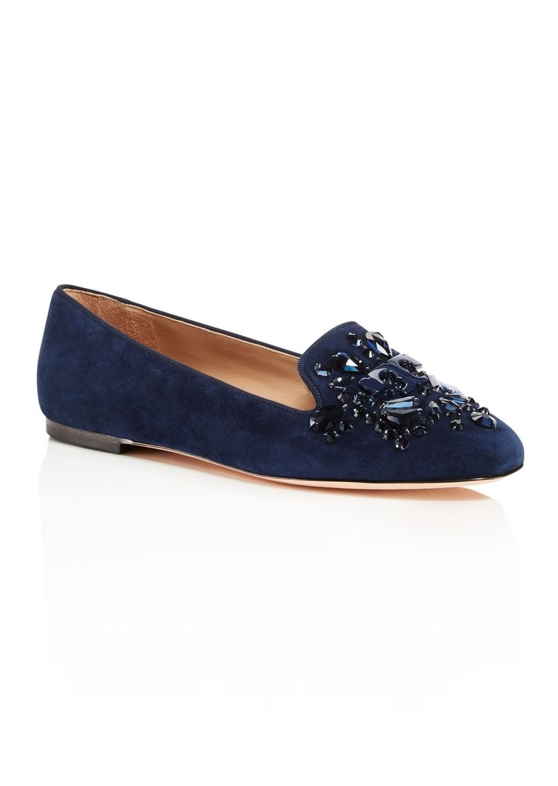 68fdbfb7daea Tory Burch Tory Burch Delphine Embellished Logo Loafers