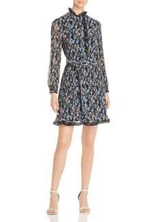Tory Burch Deneuve Floral-Print Pliss� Dress