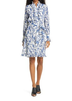 Tory Burch Deneuve Floral Print Shirtdress