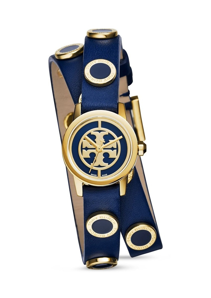 Tory Burch Double Wrap Watch, 21mm