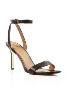 Tory Burch Elana Open Toe High Heel Sandals